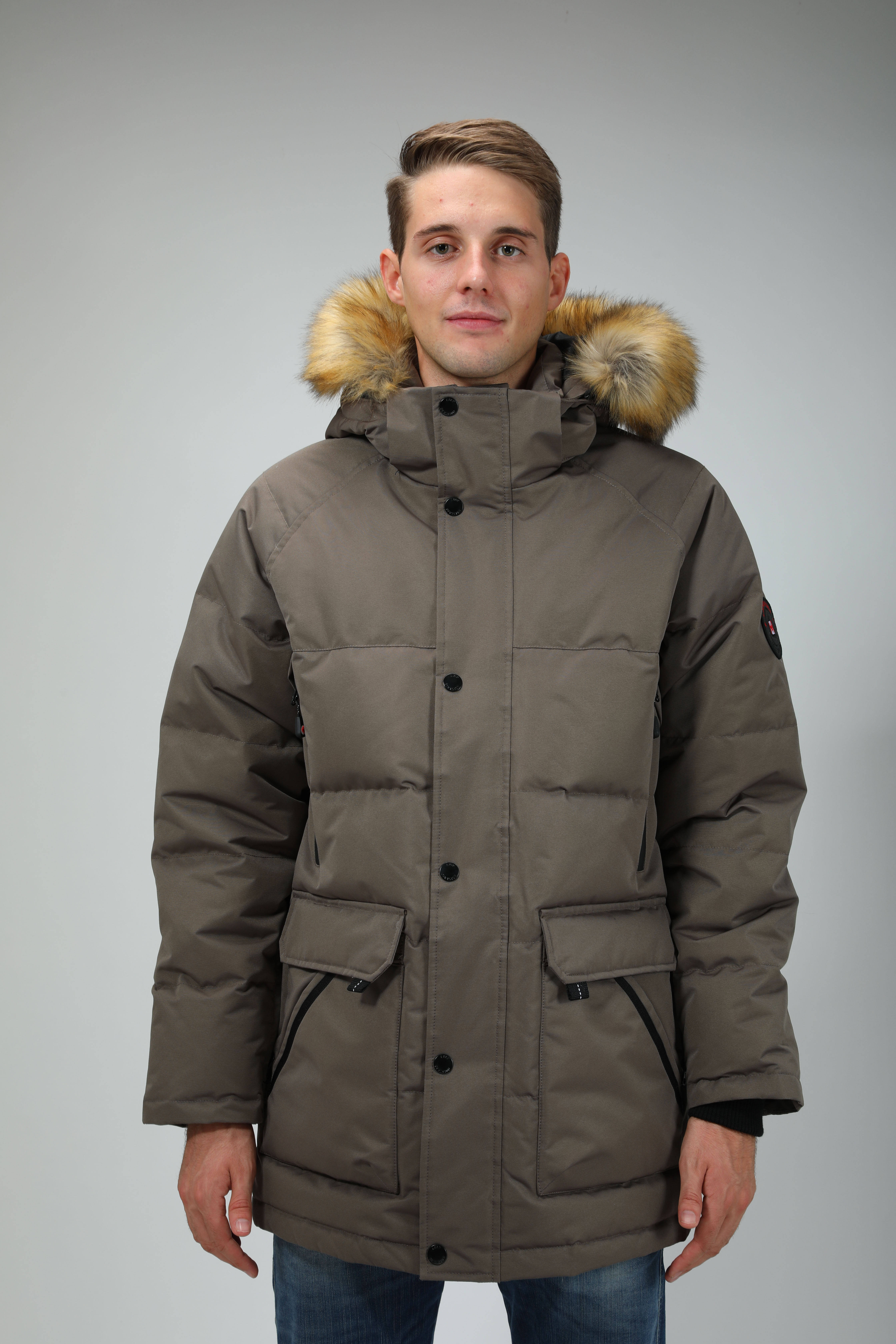 Warm Winter Parka LOOP DIVISION High Quality Winter Parka Warm Outerwear Men Parka With Detachable Fur And Hood Trending 2020