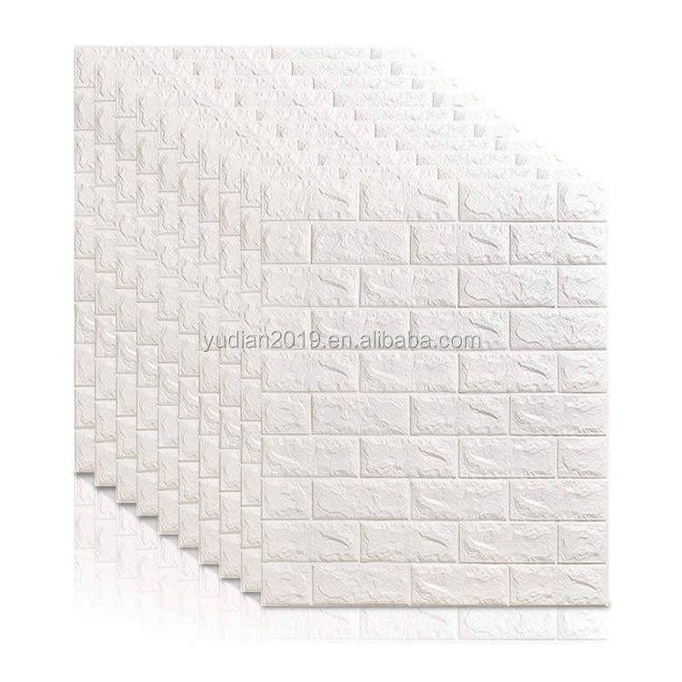 Factory direct 3d brick wall panels pvc wallpaper pattern price