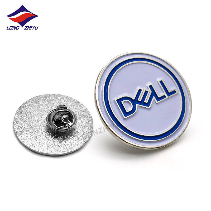Custom Soft enamel School Badges High Quality Badge Maker Professional Custom Button Pin Shenzhen Longzhiyu 14years Manufacturer