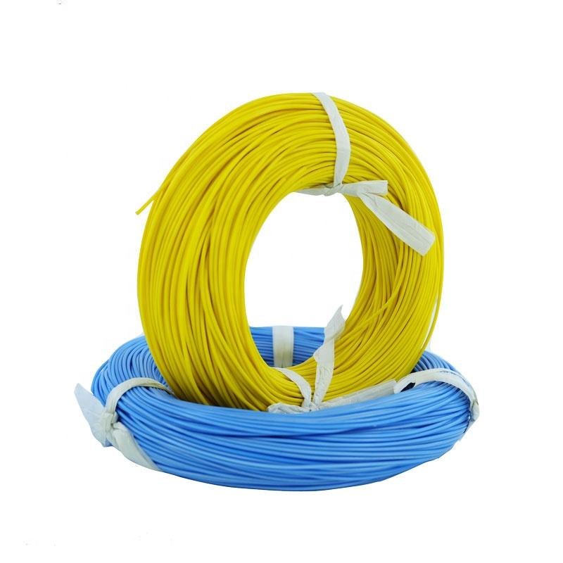 PTFE Silver Copper 250 Degree Fluoroplastic Extruded Wire