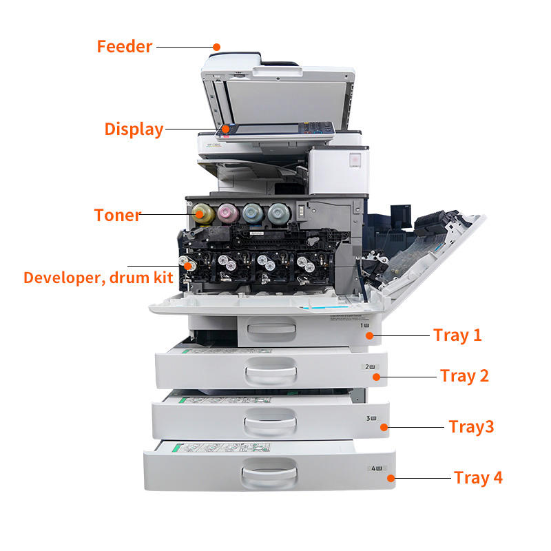 A3 Copier And Printer Buy A3 All-in-one Printer For Ricoh MP 3003 A4 Photocopi Used Colour Printer Copier