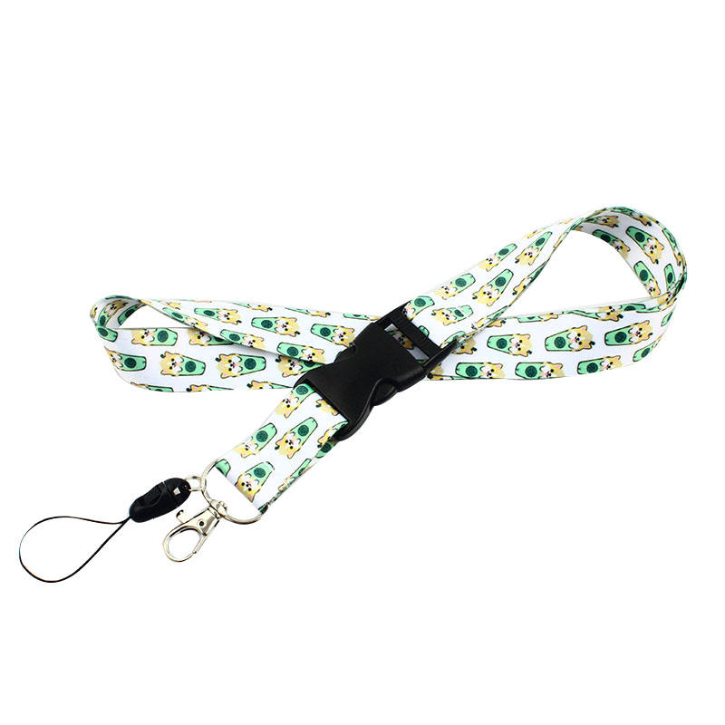 Amerpromo lanyard Neck Lanyard Strap for Keychains Keys ID Holder Cell Phones Detachable Lanyard with Quick Release buckle