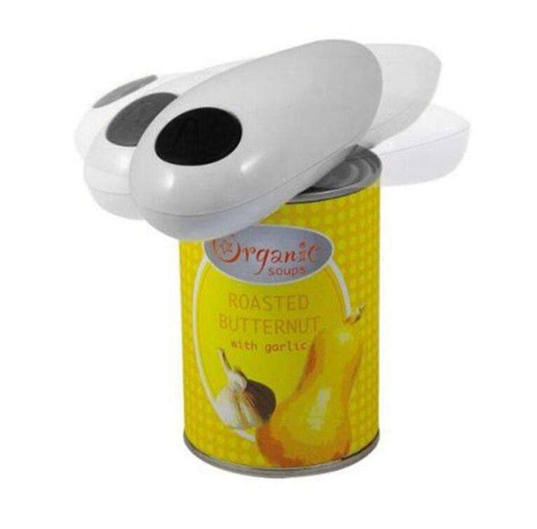 E1479 Automatic Opener Tool Cordless Battery Operated One Touch Can Opener Automatic Jar Tin Bottle Electric Opener