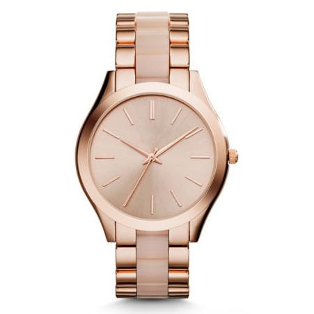minimalist omax quartz gold watch with stainless steel back nice style ladies watch