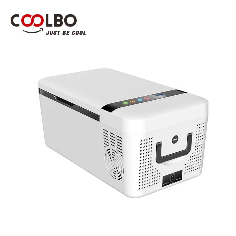 Portable car fridge DC 15 liter mini compressor heating and cooling usb fridge