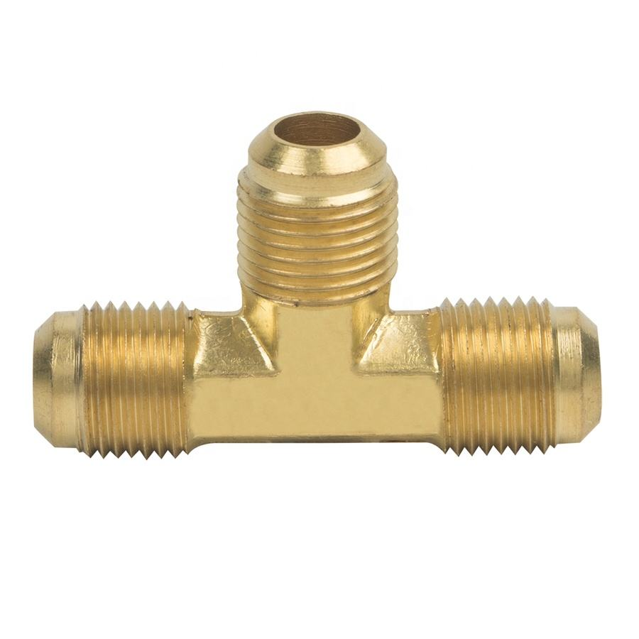 Air Conditioning Brass Male Gas Flare Fittings for AC system