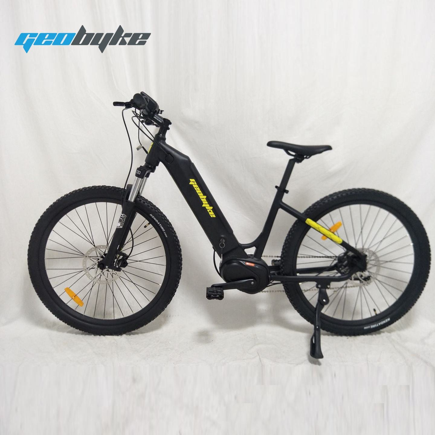 Green Power Urban City Electric Bike Lady Step Through Mid Driving 48V 350W