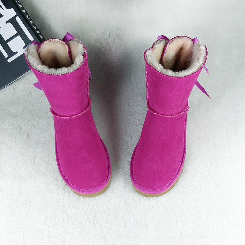 Factory direct wholesale winter fur boots tall fur boots fur boots and matching headbands