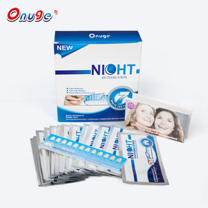 OEM 6% Hydrogen Peroxide Teeth Whitening Night Strips From Onuge