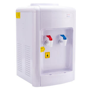 [Watercoolers] 16T Panas Dingin Dua Keran Meja Dispenser Air Dispenser Air Mini Desktop Dispenser Air