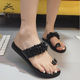 RTS Hot sale summer beach flat low heel slide women ladies sandal