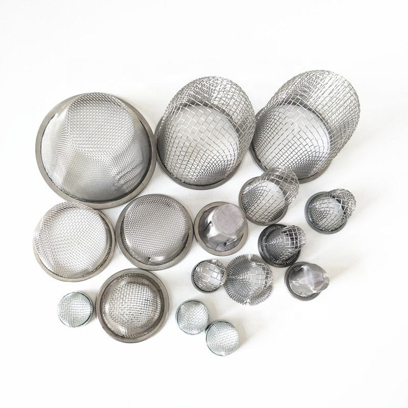 1400 degree high temperature resistance DxH 70mmx31mm 76x63mm 20 28 30 mesh 314 stainless steel cone bowl screen filter