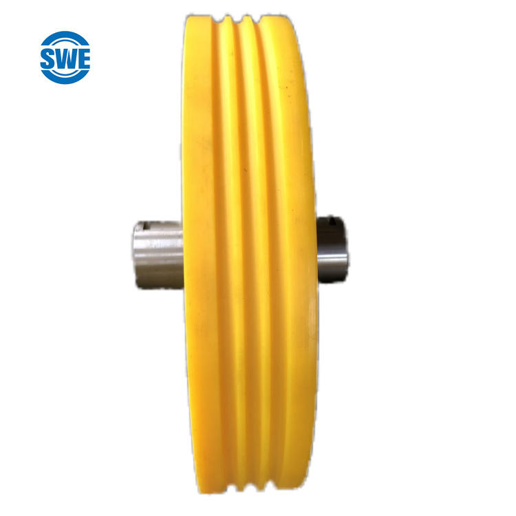 Low Noise High Mechanical Round Belt Mc Nylon Pulley