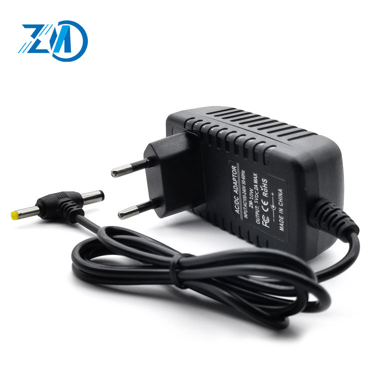 5v 2a rechtwinklig power stecker adapter ac adapter 5v 2a 12v zu 5v 2a converter
