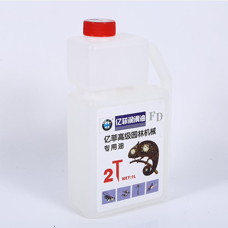 High Performance 2T 15W 40 Plastic Bottle Motorcycle Red Engine Oil