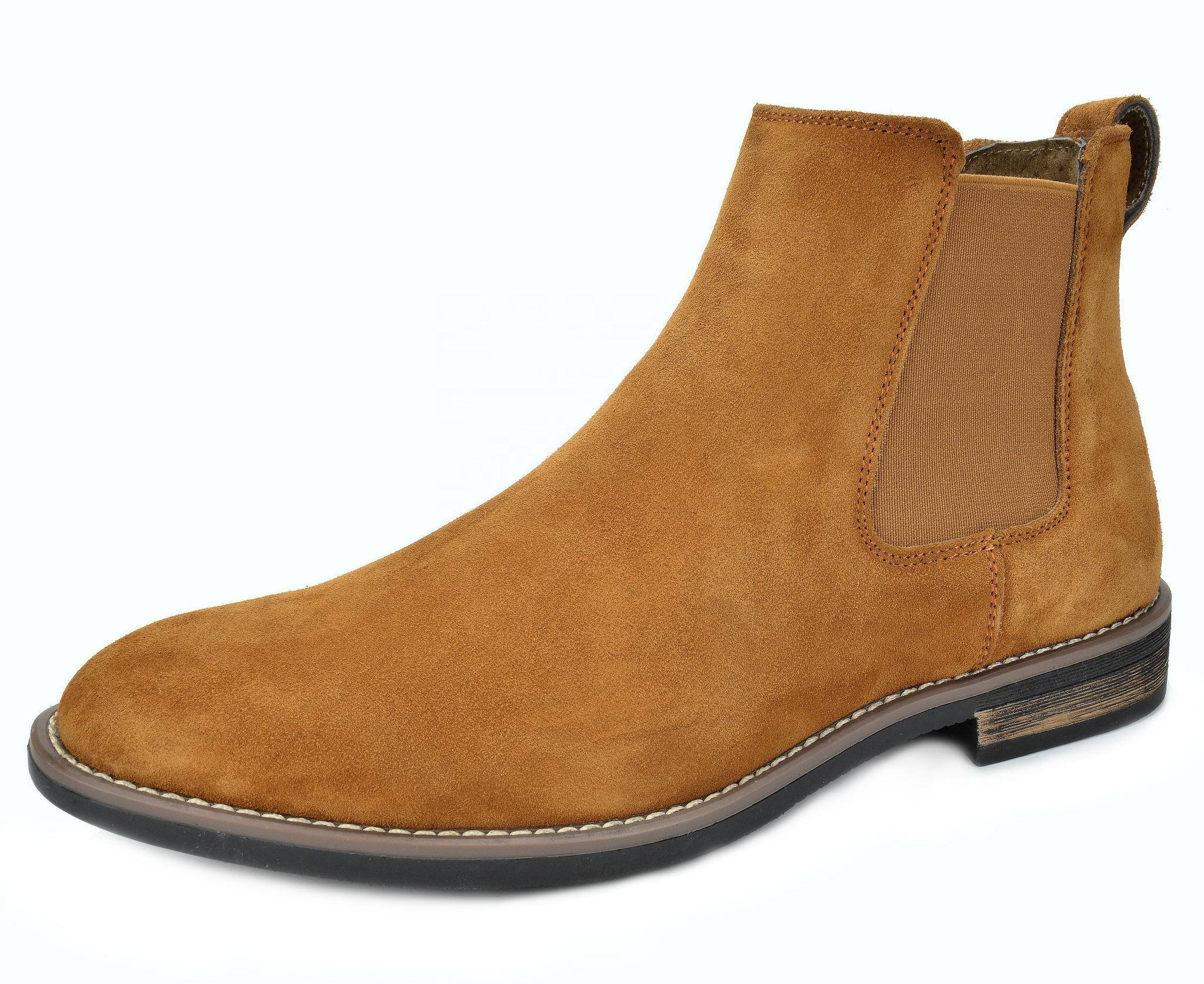 Men's Casual Dress Premium Suede Leather Ankle Chelsea Boots
