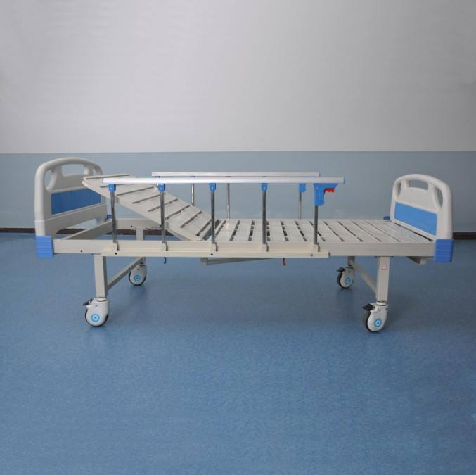1 Crank Manual Hospital Bed CE ISO