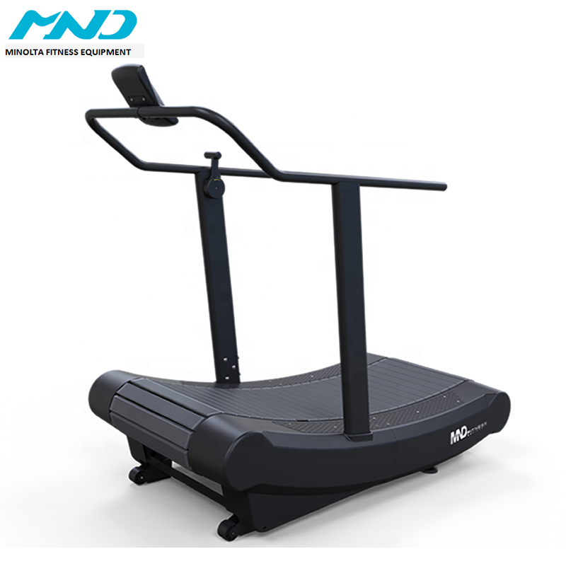 Professionele Non Gemotoriseerde Draaiende Machine Gym <span class=keywords><strong>Fitness</strong></span> Self Powered Loopband