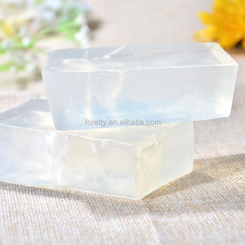 Natural Plant Derived Ingredients Lye Free Melt and Pour Soap Base