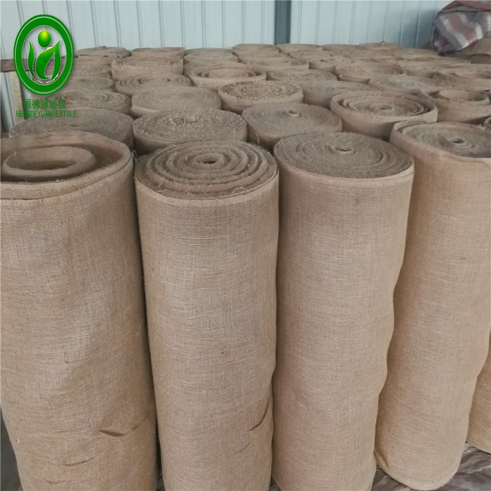 Quick Wrap Burlap Super quality 100% natural hessian cloth for tree nursery and construction angriculture