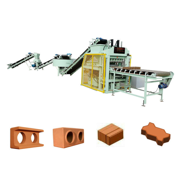 Soil Interlocking Brick Wall Building 4-10 Hydraulic Automatic Compressed Earth Block Machine Lego Cement Block Machine
