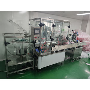 Hot selling automatic plastic tube filling and sealing machine disposable plastic aseptic collecting tube filling machine