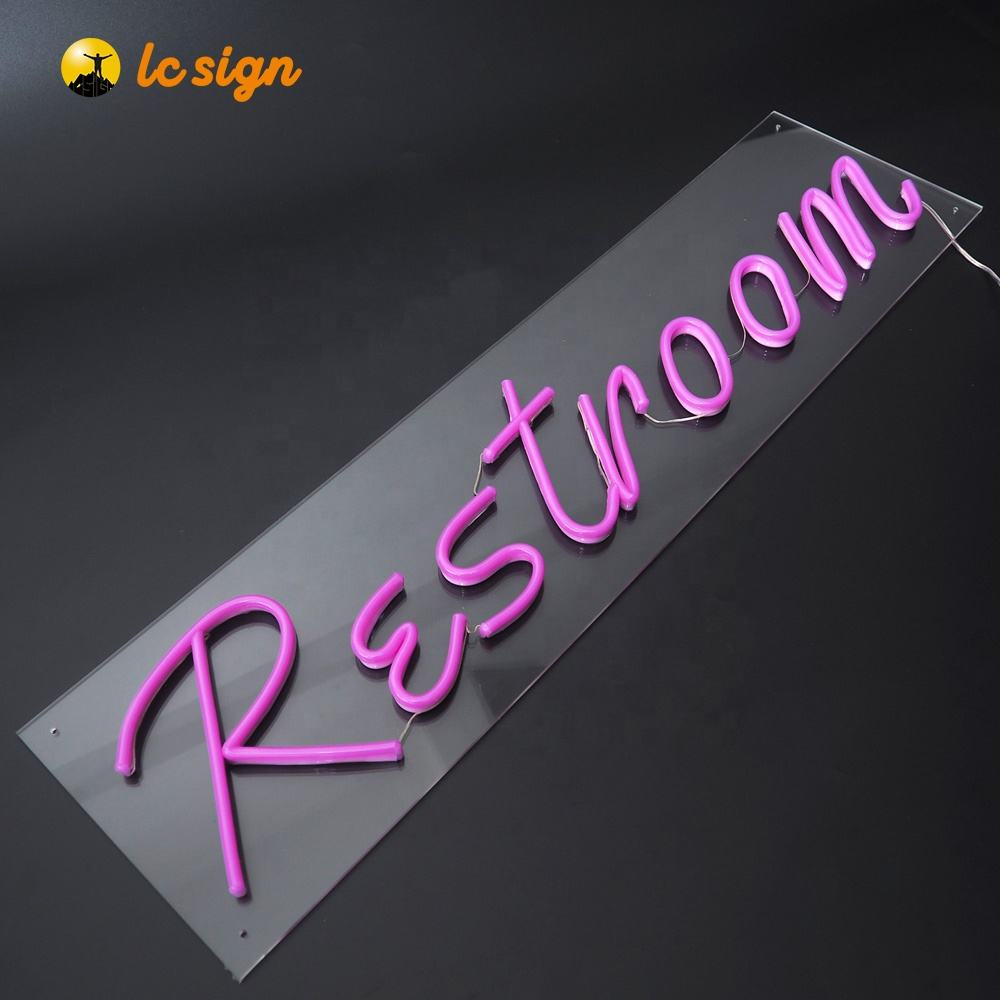 Customized design dc12v led neon sign outdoor Pub Bar Wall Decoration