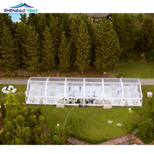 10x15m Transparent Marquee Wedding Tent For Concert Party
