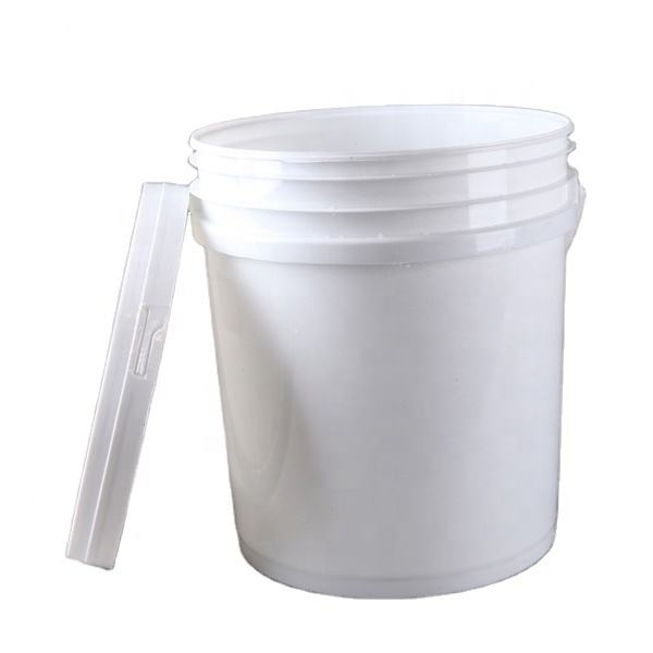 colored plastic bucket pail manufacturers with airtight lid and handle