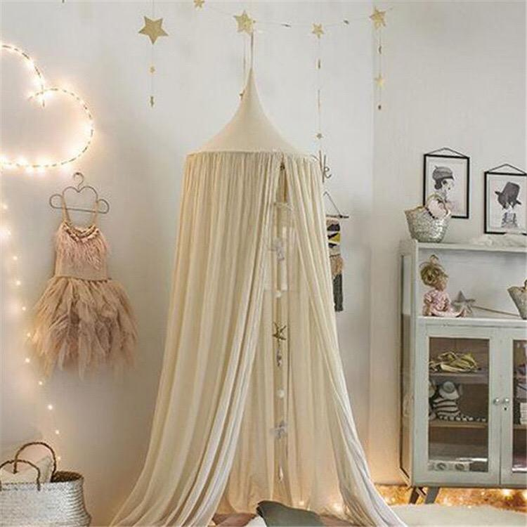 Hot Beautiful Round Lace Bed Canopy Netting / Indoor Mosquito Net / princess bed canopy