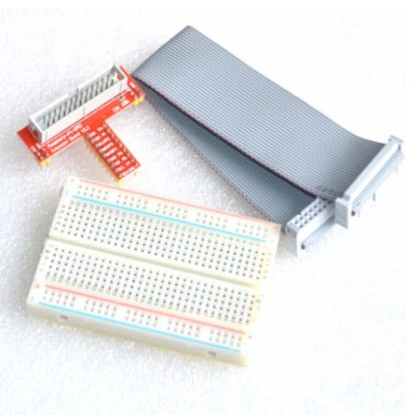 Raspberry Pi 2 3 B + Uitgebreide Diy Kit Connector + <span class=keywords><strong>Premium</strong></span> 400 Gat Broodplank + Gpio Adapter Plaat