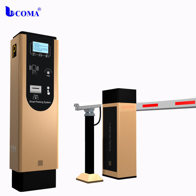 Car parking solution provider automatic ticket/card dispenser/ card collectors