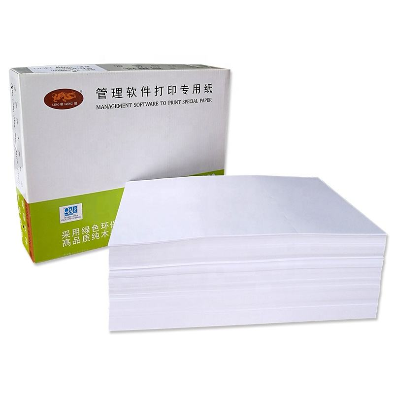 Copy paper 1000 sheets/70gsm 80gsm 297*210mm pure white A4 bisector paper for office paper wholesale