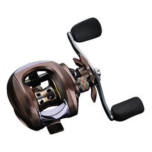 Newbility lightweight body casting fishing reel aluminum spool EVA handle knob fishing baitcasting reel