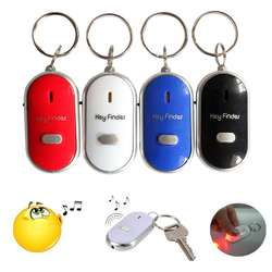 LED Mini Anti-lost Whistle Frequency Induction  Key Finder Senile Anti-lost Locators Key Finder Dropship 7.9