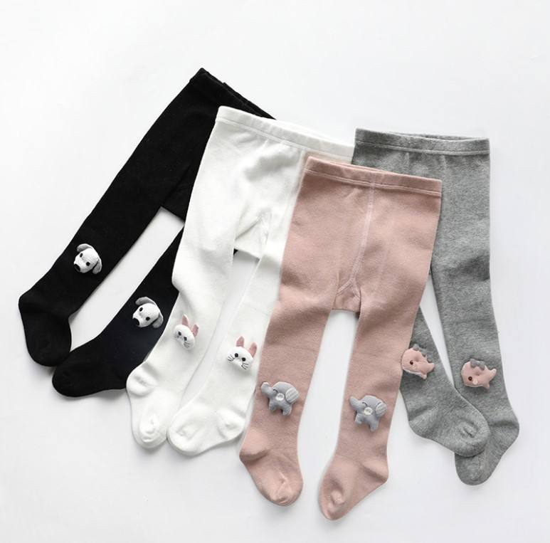 tights baby with dog elephant rabbit dolphin doll kids pantyhose animal