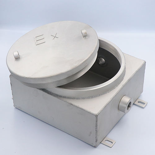 Flameproof explosion-proof junction box