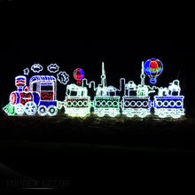 City commercial outdoor park led light decoration large christmas display