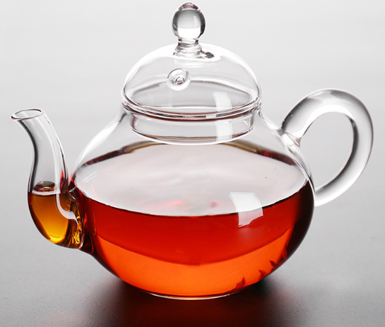 270ml handmade clear glass tea pot blooming tea gift sets glass tea pot and cup