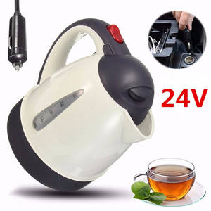 304 stainless steel large capacity car 1000ML car hot water bottle portable water heater travel car 12V/24V
