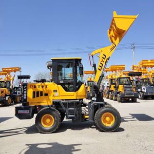 mini Articulated ZL16A China Mini Wheel Loader Radlader For farm china small wheel manual loaders for sale