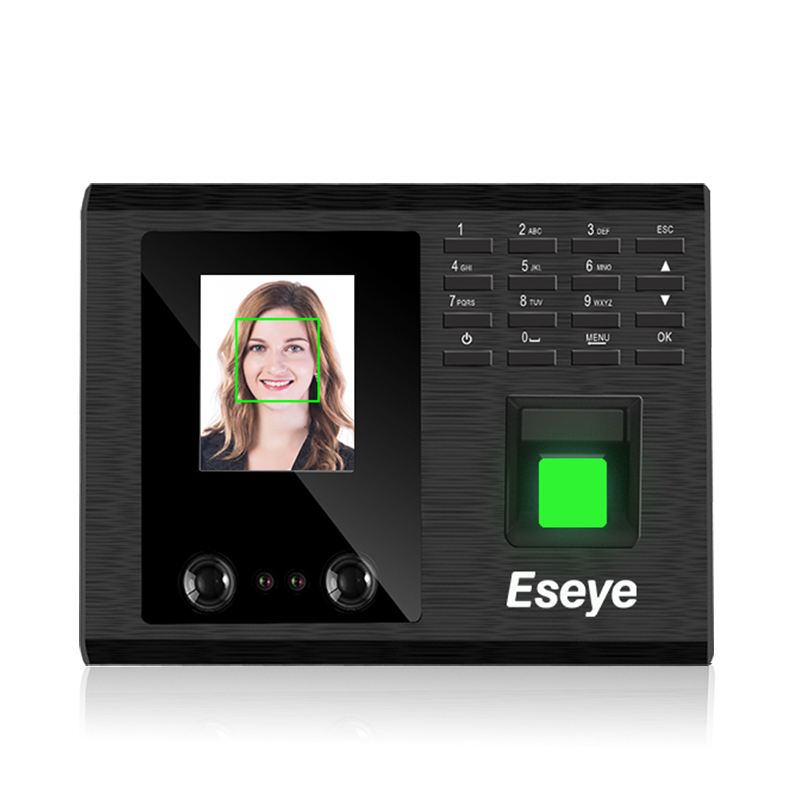 Eseye Hot Quality Employee Office biometric Machine Face Recognition Fingerprint Time Attendance Time Clock