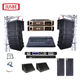 L-808 Pro Sound Equipment Dj Outdoor Audio System,Dual 8 Inch Passive Speaker System Line Array