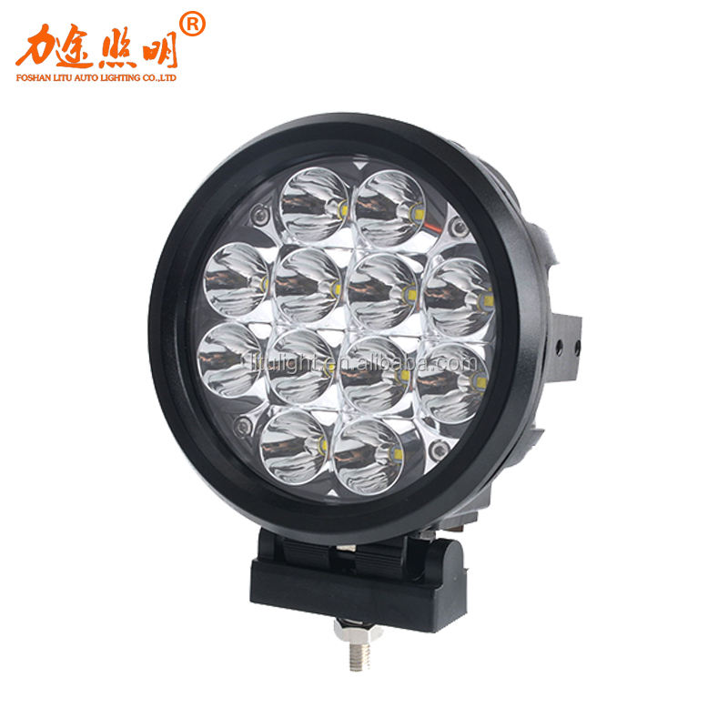 LITU 60W 6 inch LED Round Driving Light with brightest for automobile & motorcycle