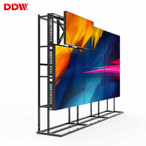 Factory hot sale 55 inch 1.7mm bezel 1920x1080 resolution landscape wide screen lcd video wall multi-screen panel tv wall