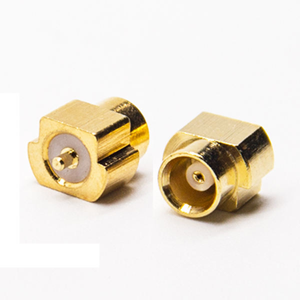 Mini Gold Plating MCX Jack Socket Coaxiale Connector voor PCB SMD Mount