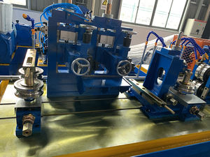 Straight seam tube welding line/ss tube production line/ steel pipe making machine