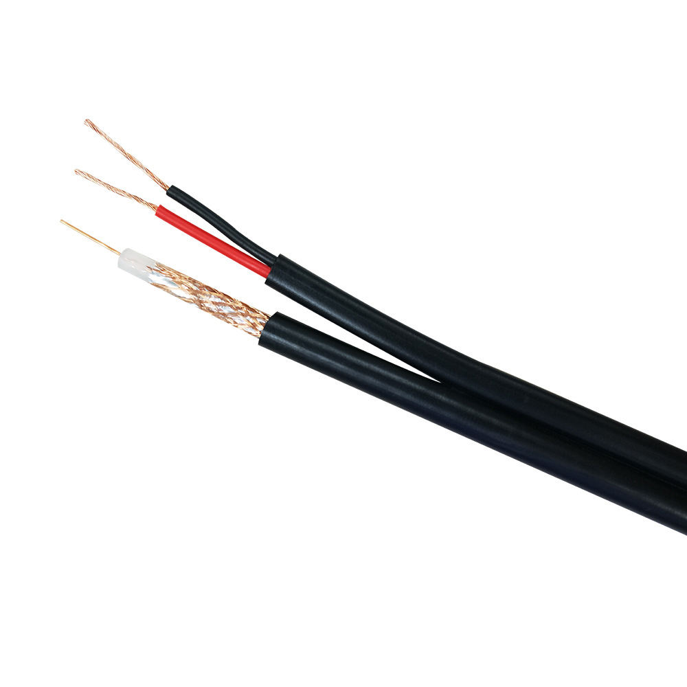 RG59+Power cable for RG-59 CCTV Coaxial Cable