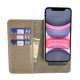 Factory Wholesale Card Holder Mobile Phone Universal Flip Leather Wallet Case