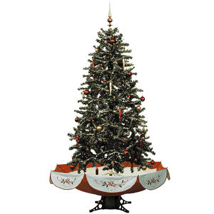 Hot Sale 210cm Giant Christmas Tree Indoor Imported From China with umbrella base
